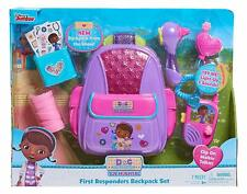 🚛 Fast Shipping! {NEW} Doc McStuffins First Responders Backpack Set Gift Age 3+