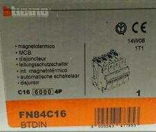BTICINO INTERRUTTORE DIFFERENZIALE MAGNETOTERMICO FN84C16