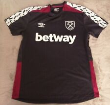 WEST HAM UNITED TRAINING FOOTBALL SHIRT ADULT LARGE
