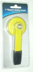 """2"""" Magnetic Welding Ground Clamp w Lift Handle 250A Capacity 1/2"""" Stud Bolt"""