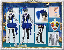 Kuroshitsuji:Black Butler Ciel Phantomhive Book of Circus Cosplay Costume