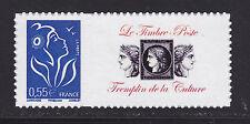 "FRANCE  N° 3802D **, PERSONNALISE ""Culture"" ADHESIF, TB"