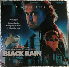 BLACK RAIN. Ridley Scott. Michael Douglas. Andy Garcia LASERDISC PAL