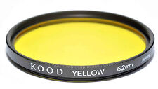 Kood Yellow Filter Made in Japan 62mm