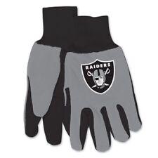 Oakland Raiders ~ (1) Par Guantes de trabajo utilidad para Hombre  Deportivos ~! nuevo! e9cace32312