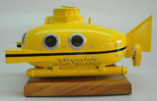 Zissou MIni-Sub Submarine Mahogany Kiln Dry Wood Model Small New