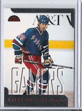 1997-98 LEAF WAYNE GRETZKY GAMERS 175 DONRUSS RANGERS