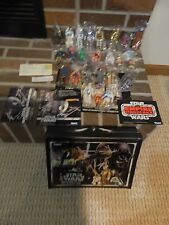 Star Wars  24 Bagged Action Figures & Case 1977 to  1981
