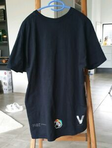 Made in USA 10 Deep back print victory sportwear T Shirt L large Black White