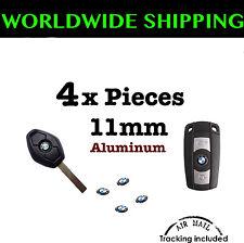 4x BMW REMOTE KEY FOB LOGO EMBLEM STICKER DECAL 4 Pieces 11mm Badge New