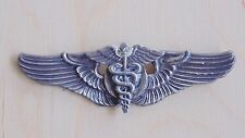 "USAAF ARMY AIR FORCE SURGEON 3"" MEYER STERLING SILVER WING BADGE PARTS REPAIR"
