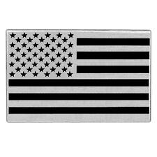 "VEGASBEE® HUGE USA FLAG REFLECTIVE EMBROIDERED PATCH AMERICAN BIKER JACKET 12"""