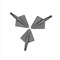 6pcs 125 grain Arrowhead Broadhead Tip Point Carbon Arrow Bow Archery Hunting