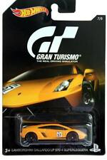 2016 Hot Wheels Gran Turismo #7 Lamborghini Gallardo LP 570-4 Superleggera