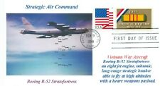 B-52 STRATOFORTRESS SAC Strategic Bomber Vietnam War Photo Cachet First Day PM
