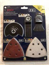 Bosch 23-piece Oscillating Accessory Set for Multi tool (OSCS23) Wood/Metal