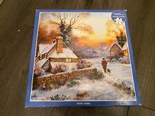 Otter House 1000 piece Jigsaw Puzzle - Winter Village