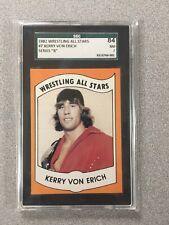 1982 Wrestling All-Stars Series B Wrestling Kerry Von Erich #7 SGC 84 NM