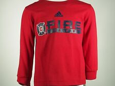 Chicago Fire Official MLS Adidas Infant Toddler Size Long Sleeve Shirt New Tags