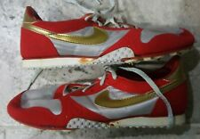 finest selection 4dae3 a6923 VINTAGE 1985 NIKE FLAME TECH TRACK SHOES WITH ORIGINAL BOX MEN S SIZE US9!