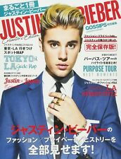 GOSSIPS Special 2017 Oct JUSTIN BIEBER Japanese Magazine Japan Book