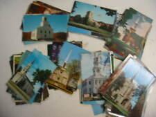 100 Church Postcard Lot 77
