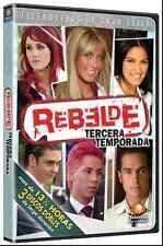 Rebelde: Tercera Temporada * Telenovela (3 DVD's) *Season 3* Gently Used Novela
