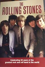 THE ROLLING STONES BOOK ILLUSTRATED 50 YEARS