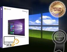 Microsoft Windows 10 Pro - FQC-09131 (32/64-bit, Download) Professional License