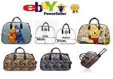 New Winnie Pooh & Eeyore Vintage Holdall Trolley Bag,Hand Luggage Travel HandBag