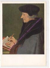 CP ART  Postcard TABLEAU HANS HOLBEIN Portrait de Didier Erasme écrivant