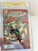 Amazing SpiderMan #700 CGC 9.8 SS 5x Stan Lee, McFarlane, Slott, Ramos, Delgado