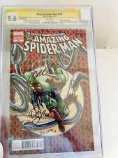 Amazing SpiderMan #700 CGC 9.6 like (9.8) SS  5x Stan Lee, Todd McFarlane Signed