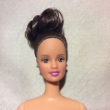 Barbie Doll Nude TheresaFace w/Brunette Up-Do Bun Twist N Turn, Adult Collector