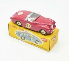 Dinky toys 107 Sunbeam Alpine Sports Virtually Mint/Boxed