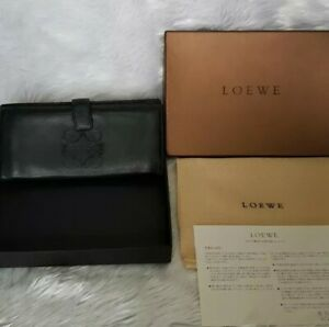 Authentic Preloved Loewe Soft Leather Wallet