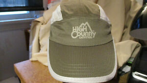 NWT HIGH COUNTRY OUTFIT Headsweats Perf Race/Running/Outdoor Sports Hat OLIVE