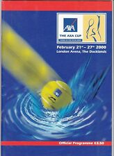 Axa CUP Tennis 21 - 27 FEBBRAIO 2000 @ London ARENA, Etihad.