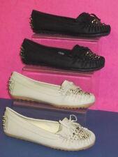 Zapatos planos de mujer mocasines color principal beige