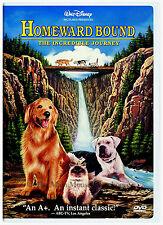 Homeward Bound The Incredible Journey Disney Dog Nature Survival Family Film DVD