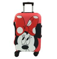 Elastic Dust Case Minnie Mickey Mouse Pattern Travel Suitcase Protective Cover