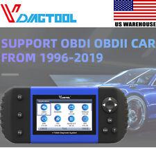 VDIAGTOOL VT600 OBDII Diagnostic Scanner ABS EPB SAS DPF Oil Reset Injector US