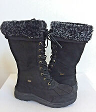 UGG ADIRONDACK III TALL LEOPARD BLACK Boot US 8.5 / EU 39.5 / UK 7 - NIB