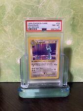 🌈 Rainbow ERROR - PSA 8 - DRAGONAIR - Pokemon 1999 Shadowless 1st Edition Base