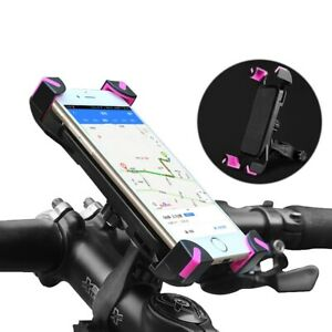 360° Adjustable Motorbike Bicycle Stand Bike Handlebar Holder For Cell Phone GPS