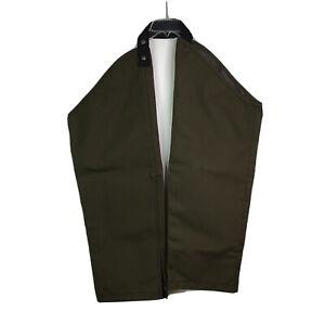 Cabela Chaps Bush Guard Tough Pants Green Leg Covers Reg 30-32 Side Zip