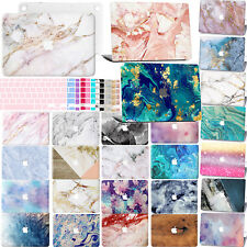 """New Marble Rubberized Hard Case Laptop Keyboard Cover For Macbook Air 13"""" Retina"""