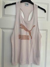 Pale Pink Puma Vest Top Size 12