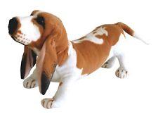 Te tendencia 17872 Basset Hound mascota de 38 Cm De Altura Juguete Suave Felpa permanente