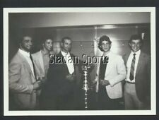4 Sutter Brothers & Father 1982  New York Islanders  NHL Hockey Press Photo